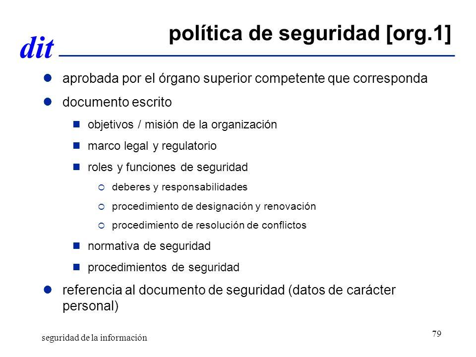 política de seguridad [org.1]